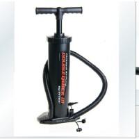 满百包邮INTEX68615 高效能特大号手动充气泵可抽气四气嘴 可充足篮排球类