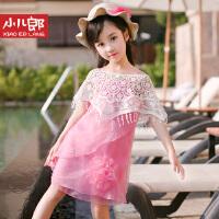 童装女童连衣裙夏装2016新款儿童韩版雪纺裙子女孩吊带公主裙沙滩3137