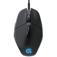 罗技G302 有线竞技 游戏鼠标 USB电脑LOL竞技 发光 呼吸灯