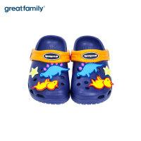 歌瑞家童鞋男童女童洞洞鞋夏季宝宝拖鞋儿童凉拖鞋防滑舒适乐友