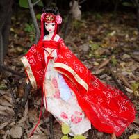 可儿娃娃 唐韵佳人9070 关节体中国新娘古装芭比娃娃女孩