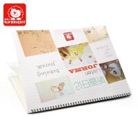 特宝儿  儿童画画书画册幼儿园图画本涂鸦简笔画宝宝听画日记3-6岁听画日记 画本 儿童日记玩具