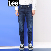 Lee男装 商场同款2017夏薄款中低腰水洗九分牛仔裤男LMZ755H464KY