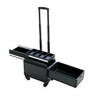化妆箱 万向轮拉杆化妆工具箱 容量abs拉杆化妆箱