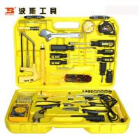 波斯工具 锤 43件电讯组套 外用表 螺丝批 电烙铁