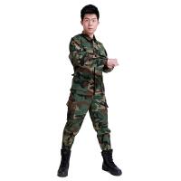 外军BDU简易版数码迷彩套装 户外运动军迷装备