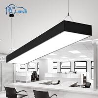 祺家 餐厅灯现代简约吊灯直角长方形办公室灯饰灯具ID10
