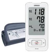 欧姆龙 电子血压计 家用 血压仪 HEM-7300 外出便携 臂式智能 带电源