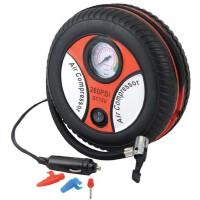 轮胎充气泵 12V 24V 迷你打气机 车载充气机 电动打气泵
