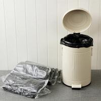【可货到付款】欧润哲 12L垃圾桶清洁塑料袋 大号垃圾袋黑色背心式收纳袋子 200/400只装