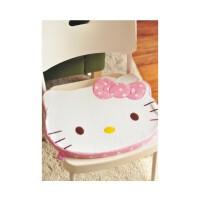 陆捌壹肆  Hello Kitty 凯蒂猫卡通靠垫/毛绒软坐垫/办公椅垫/汽车坐垫(一个装)
