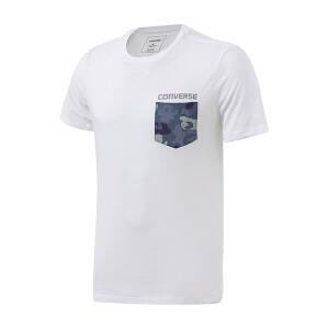 Converse匡威男装2017夏季透气圆领运动休闲短袖T恤10003648