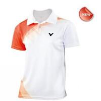 VICTOR 威克 多儿童羽毛球服CS-3018短袖 胜利 羽毛球运动上衣 儿童T恤