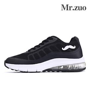 Mr.zuo新款网鞋女士透气运动鞋超轻女子气垫鞋学生跑步鞋休闲鞋