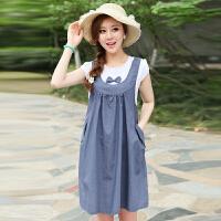 慈颜 孕妇装 韩版大码孕妇裙夏款孕妇连衣裙 时尚裙子YZG0980