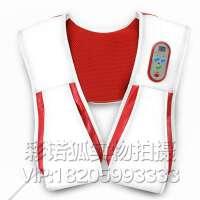 颈椎 肩膀 腿部多方位按摩器 颈部腰部捶背器 颈肩捶打按摩披肩