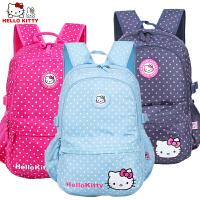 HELLO KITTY 儿童中小学生书包可爱KT猫女童减负双肩休闲书包