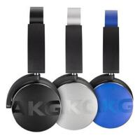 爱科技 AKG Y50BT 立体声蓝牙耳机 重低音 头戴式耳机 手机耳机 银色/蓝色/黑色