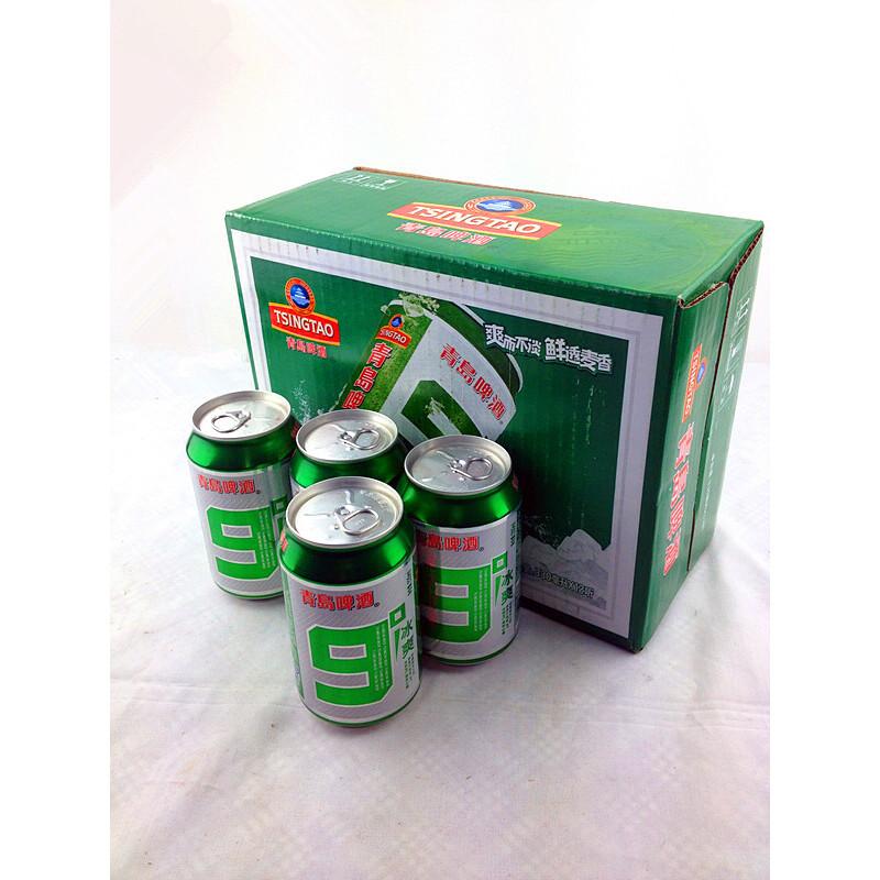 【青岛啤酒饮料】汉斯9度 青岛汉斯啤酒 易拉罐一件12
