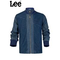 Lee牛仔外套男士复古夹克蓝色男式L14217Q06T27