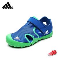adidas阿迪达斯童鞋儿童凉鞋防滑耐磨户外沙滩凉鞋 BB5413 BB5414