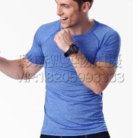 篮球足球跑步田径健身服运动紧身衣短袖男T恤速干弹力训练塑身衣