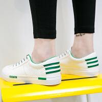 匡王2017夏季新款韩版小白鞋女百搭学生透气板鞋低帮休闲女鞋平底板鞋