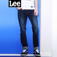 Lee 【新款】2017春夏新品鸡年手擦猫须牛仔裤男 722版型 低腰小直脚修身版型 L157221VJ4RP