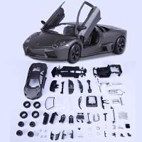 兰博基尼车模1:24仿真原厂跑车合金汽车模型拼装车模男孩玩具