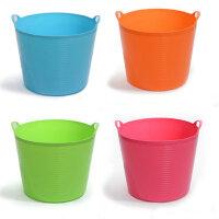 大号带出水口环保塑料储水桶 儿童沐浴桶  婴儿沐浴盆 杂物桶 桶储物 收纳桶
