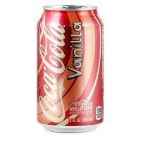 香草味可口可乐 Coca Cola Vanilla Coke 355ml*12罐(整箱)