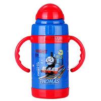 托马斯儿童保温杯260ml带吸管水杯不锈钢便携可爱水杯宝宝水壶瓶ST52001