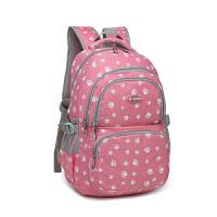 智尔娜2016新款书包双肩包女式韩版学生书包 糖果色电脑包潮流旅行包
