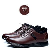 户外运动休闲鞋男士潮流鞋子潮真皮鞋男男鞋新款皮鞋韩版
