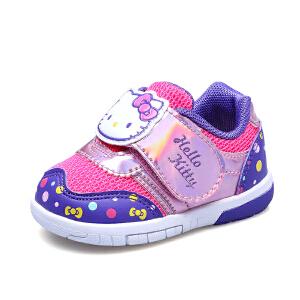 hellokitty女童运动鞋宝宝鞋子学步鞋幼童0-1-3岁小孩
