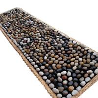 雨花石鹅卵石按摩垫石子路按摩垫脚底按摩足部雨花石鹅卵石