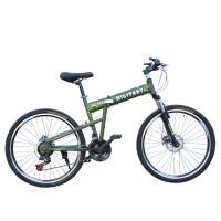 耐嘛 悍马折叠26寸山地自行车21速禧玛诺双碟刹 支持礼品卡