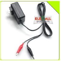 伊莱科 12V电瓶充电器 摩托 汽车 金属探测仪 铅蓄电池充电器
