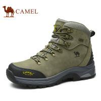 camel骆驼  新款男士户外中帮登山鞋 减震防滑登山鞋