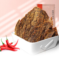 良品铺子五香牛肉干80g手撕牛肉片即食零食休闲食品肉类