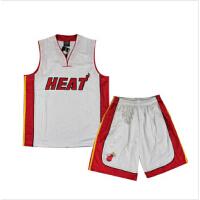 热火队篮球服套装 NBA湖人马刺雷霆凯尔特人灰熊骑士公牛队篮球衣