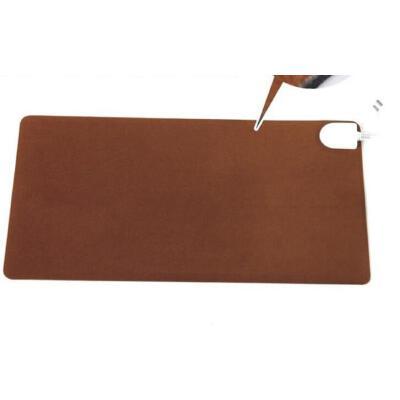 小金猴 暖桌垫 电暖书写垫 暖手宝 发热垫暖手暖脚垫28*56cm棕色