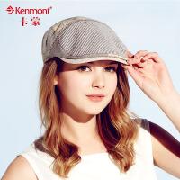 卡蒙 帽子女夏天 女士遮阳帽 时尚女帽 贝雷帽 女士夏天鸭舌帽女3215