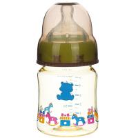小白熊 宽口径婴儿PPSU奶瓶新生儿用品宝宝塑料奶瓶150ml (颜色随机)09537