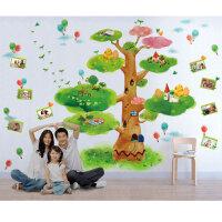 宜美贴 童话树 儿童房卧室书房大型背景墙卡通手绘装饰墙贴纸
