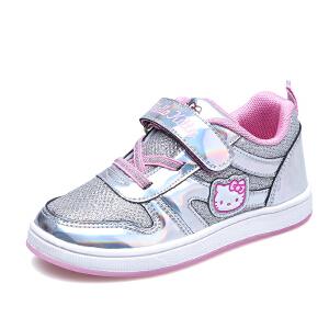 hellokitty女童鞋儿童运动鞋小女孩公主休闲鞋