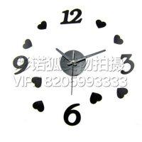 现代简约挂钟客厅创意艺术时钟壁钟 DIY个性时尚数字钟表挂表