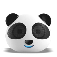 熊猫 DS180可爱猫头数码便携小音箱 笔记本电脑音箱USB SD卡插口
