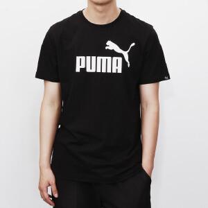彪马PUMA男装短袖T恤运动服休闲LOGO款 59027227
