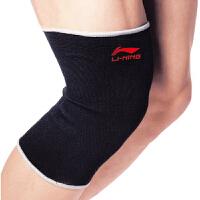 LINING李宁 运动护具 运动保暖护膝 基本型针织护膝 AQAH202 李宁护具